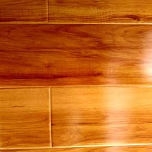 Assoalho laminado de pavimentação de madeira estratificado de alto brilho impermeável