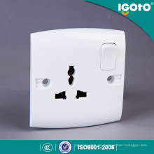 Igoto British Standard E16 Neue Design Elektrische Multi 3 Pin Licht Steckdose