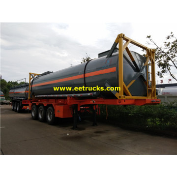 28000 Liters T14 H2SO4 Containerer Containers