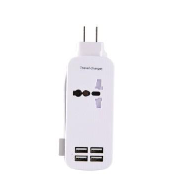 Travel Charger Outlets 5V 2.1A 4 USB Port