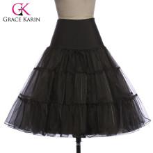 Grace karin Women Retro cheap Crinoline Underskirt 1950s vintage petticoat CL008922-1