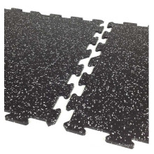 Multiple Speckles GYM Rubber Flooring Mat//Tiles, Rubber Fitness Mat with EPDM