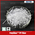fibre de pp pour la résistance de fissure concrète