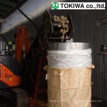 100% pure virgin polypropylene special processing FIBC BIG bag. Design by TOKIWA. Made in Japan (big bag scrap)