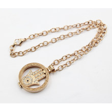 Factory Wholesale 316L Stainless Steel Living Locket Pendant Necklace