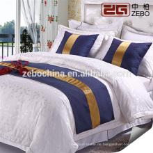 Luxus 5 Sterne Hotel Hochwertiges Elegantes Hotel 4-teiliges Set Doppelbett Bettwäsche