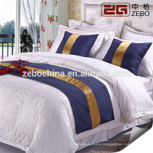 Luxury 5 Star Hotel High Quality Elegant Hotel 4 piece Set Double Bed Sheets