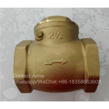 1/2 Inch-4 Inch Brass Horizontal Check Valve (YD-3009)