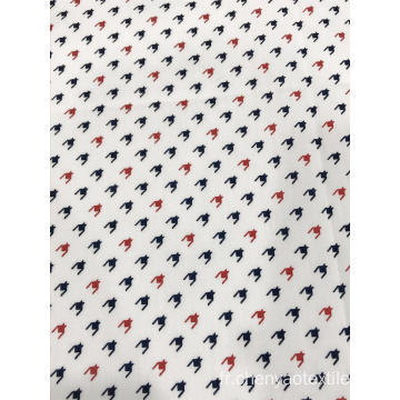 100% coton Popeline Active Printed Fabric