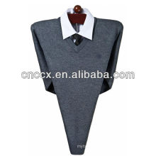13STC5523 mens V-neck cashmere wool sweater