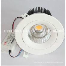 45W Superbright 4000lm + COB LED Recessed Downlight