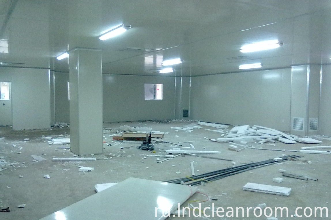 Cleanroom Cosmetics factory Argentina