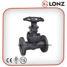 ANSI A105 Válvula de Porta de Aço Forjado Flangeada