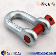 Us Type Forged Steel Screw Pin D Shackle G210