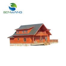 Low cost luxury prefab light steel structure villa with quality warranty