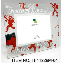 Acrylic Beads Glass Mirror Coated Picture Frames