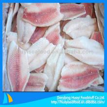 Filet de poisson tilapia fraîchement congelé au meilleur prix