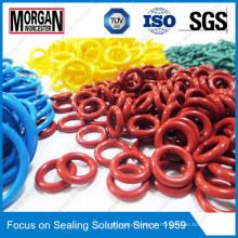 OEM / ODM Colorido personalizado de alta pressão tipo O anel de borracha