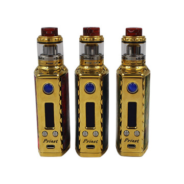 75W Box Mod Stabilized Electronic Cigarized Mod with Screen