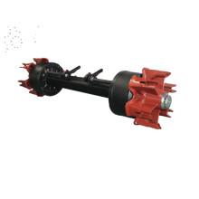 axle with 10 holes semi trailer axle beam english axle