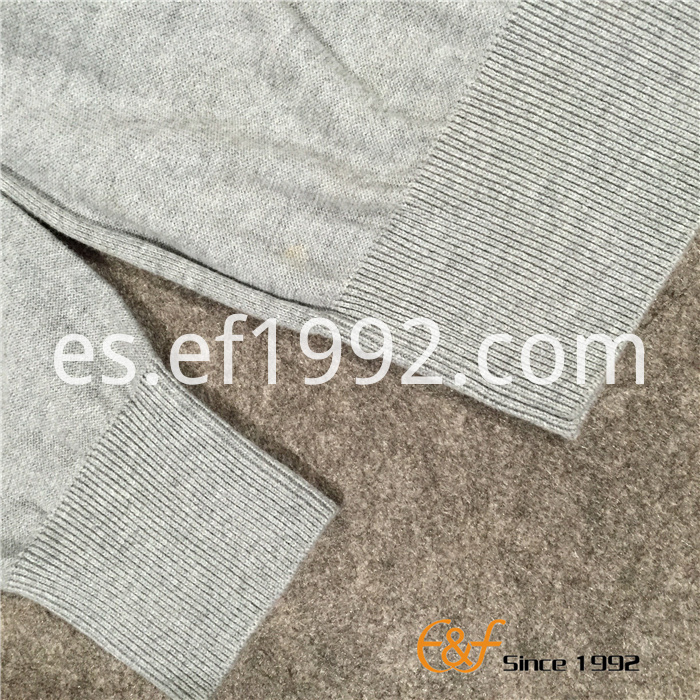 canvas patch sweater