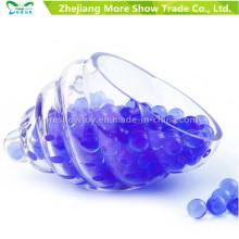 Bullet Gel Ball Mini redondos granos de agua de suelo de cristal púrpura