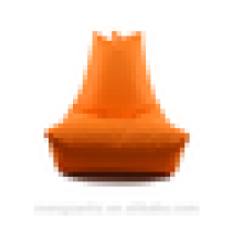Producto original bolsa de frijol sofá de comodidad bolsa de frijol naranja