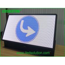 Exposição de diodo emissor de luz exterior de alta resolução exterior da exposição de diodo emissor de luz da cor completa de SMD P6