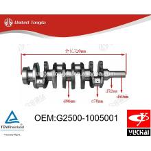 Yuchai YC4G Коленчатый вал G2500-1005001