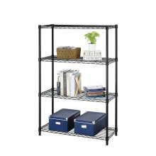 Estante ajustable del estante de la revista del hierro labrado de DIY para el almacenaje casero