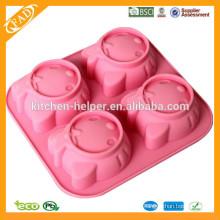 Moldes de silicona para gelatina de tarta de chocolate
