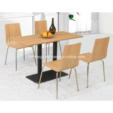 Muebles de sala Mesa de madera barata (FOH-BC18)
