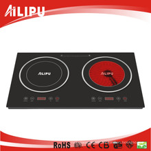 Home Appliance Double Burner Cookware of Infrared Heater