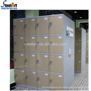 Modernes Plastikgymnastikschließfach ABS-Plastikstrandspeicherschließfach