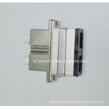 Sc-LC Duplex Hybrid Metal Fiber Optic Adapter