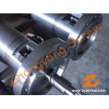 Ranhura tipo parafuso barril para máquina de extrusão de tubos