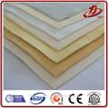 Polyester filter fabric stainless steel fiber needle felt