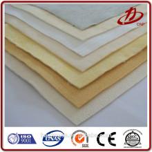 Tecido de filtro de poliéster feltro de agulha de fibra de aço inoxidável