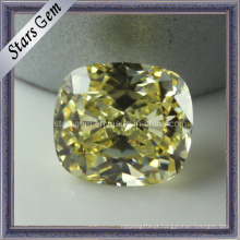 Azeitona Amarelo Pedra Sintética Beads Cubic Zirconia