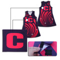 Nouveau design activewear sliming uniformes de netball