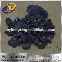 China Supplier high carbon silicon replacement of Si Fe with Low Price from Henan