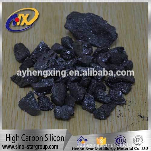 2016 new raw materials high carbon ferro silicon and ferro silicon FeSi