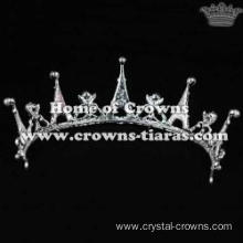 Crystal Party Crowns In Eiffel Tower Shaped