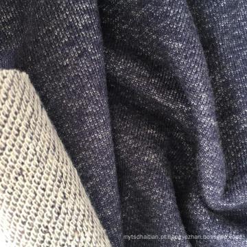 Linho Rayon Algodão Terry vestuário tecido (QF15-2196)
