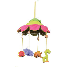 Abastecimento de fábrica Stuffed bebê cama movimento musical Hang Toy