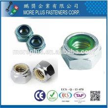 Taiwán DIN 982 985 Acero Inoxidable Sechskantmuttern Bloqueo autoblocante hexagonal de nylon Nylon de bloqueo