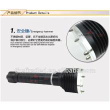 Светодиодные фонарики аварийный молот дизайн XM-L2 кри расширительные дубинки