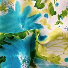 Tissu à linge imprimé en lin (QF13-0262)