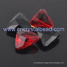 Triangle Decor Rhinestone Crystal Beads
