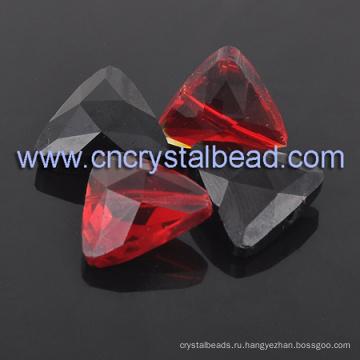 Треугольник декор стразами кристалл бусы